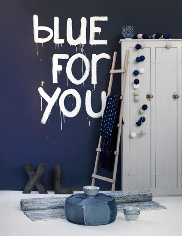 inspiration for home with blue colour photo for vtwonen