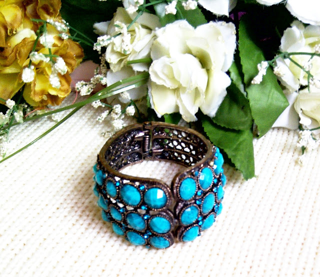 Blue And Black Bracelet