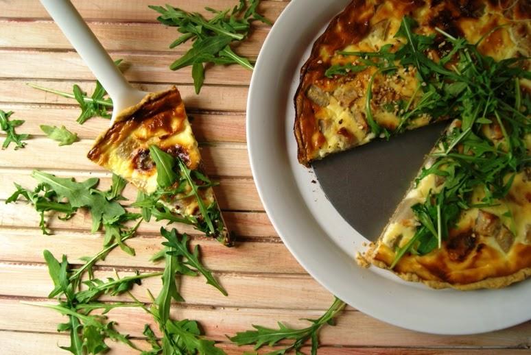 gruszka i gorgonzola, tarta wytrawna przepis, tarta gruszkowa na słono,, najlepsze tarty przepis, domowa tarta, Pyszna tarta