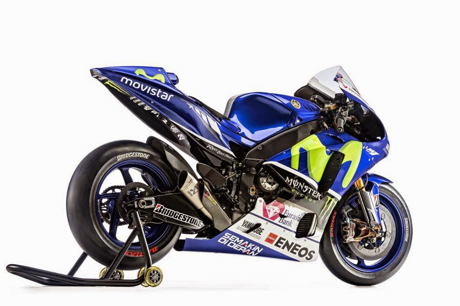 Yamaha YZR-M1 2015 #99 (Lorenzo) Rear Side