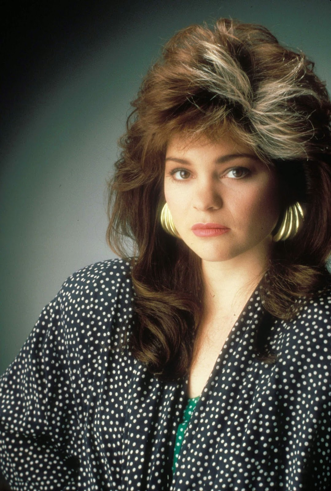 Ladies In Satin Blouses Valerie Bertinelli Various Pictures