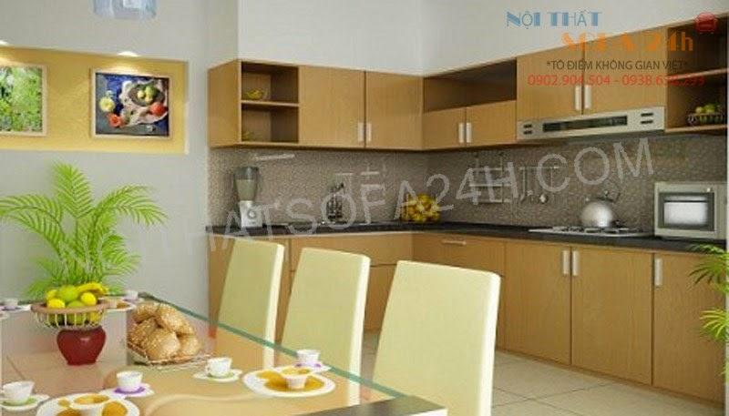 Tủ bếp TB034