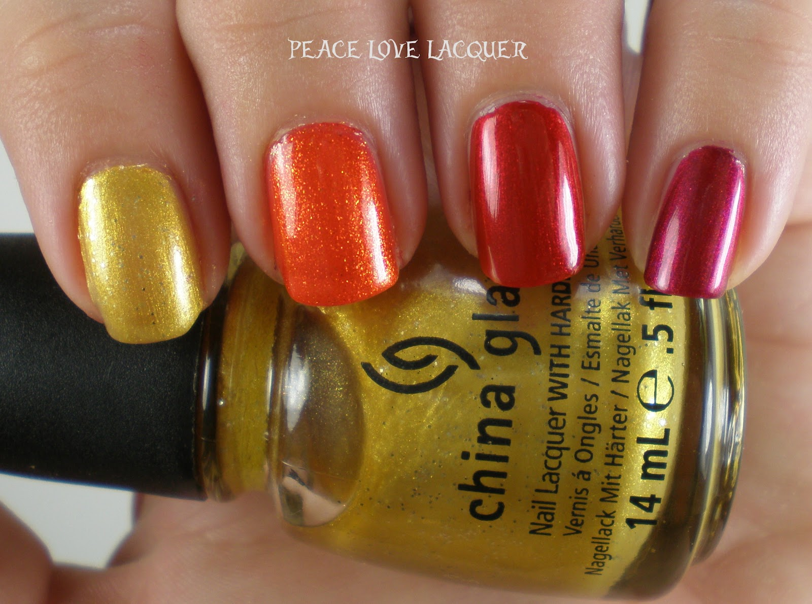 Peace Love Lacquer: Falling Forward Nail Art Challenge: Day 6 - Fall ...