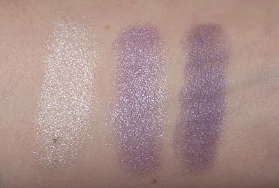 MUA Trio Eyeshadow Review - Passion Swatch