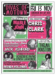 Divas of Motown revue poster