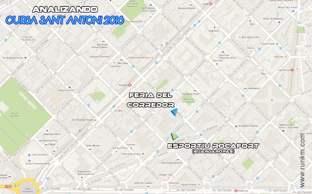 Mapa Fira del corredor