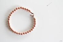 copper bracelets.