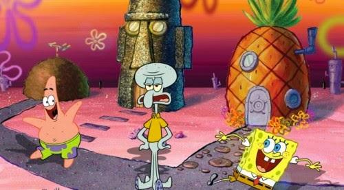 6 Hal Konyol dalam Kartun Spongebob Squarepants