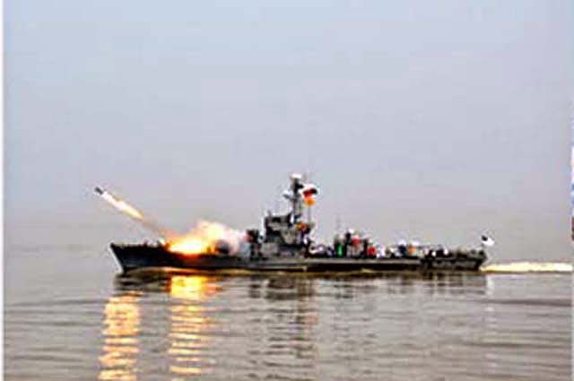 "Annual exercise of Bangladesh Navy ""Exercise Sea Thunder 2015"" begins."