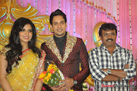 Celebraties at Actor Bharat n Jessy Wedding Reception Photos+%2528111%2529 Actor Bharath n Jessy Wedding Photos