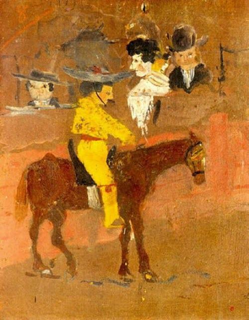 "Pablo Picasso, ""Le Picador,"" 1890"