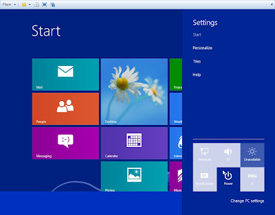 Windows Blue 8.1 - 9374 Leaked UGLY BUTTONS, really MS what are you doing?
