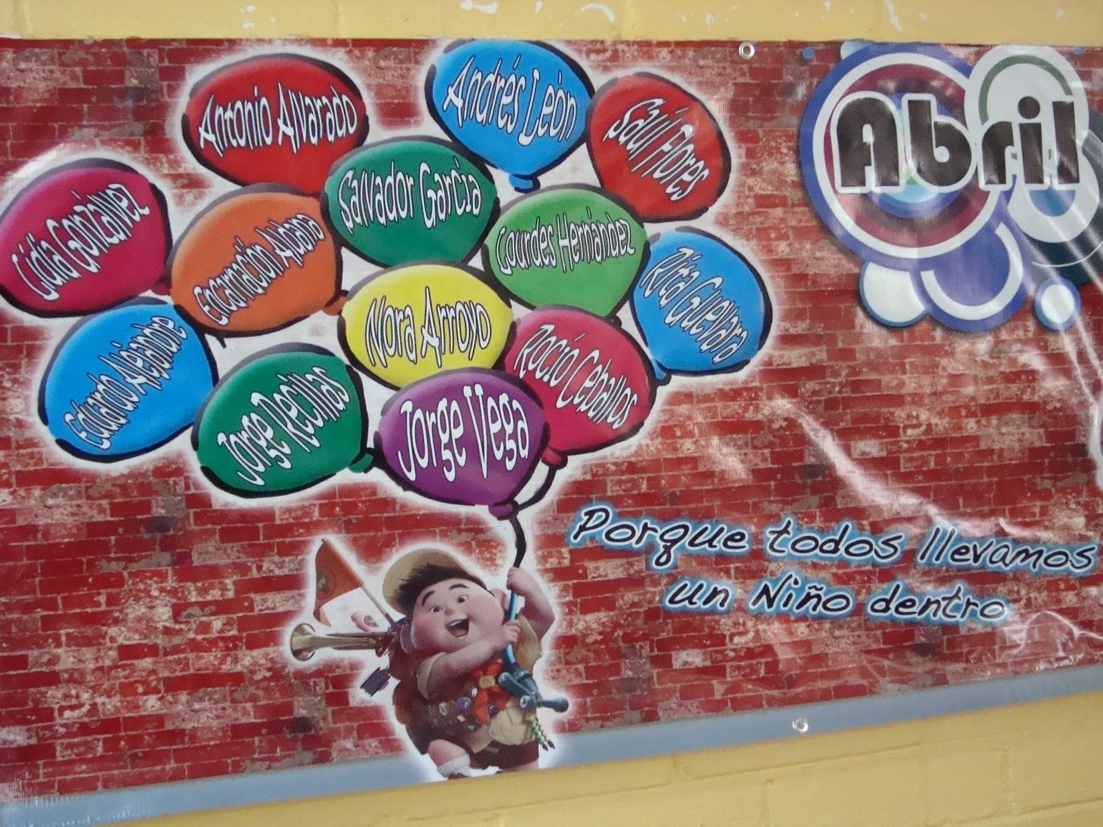 Periodico Mural Del Mes De Abril