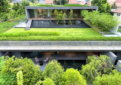 Rumah Kembar Dengan Roof Garden 5