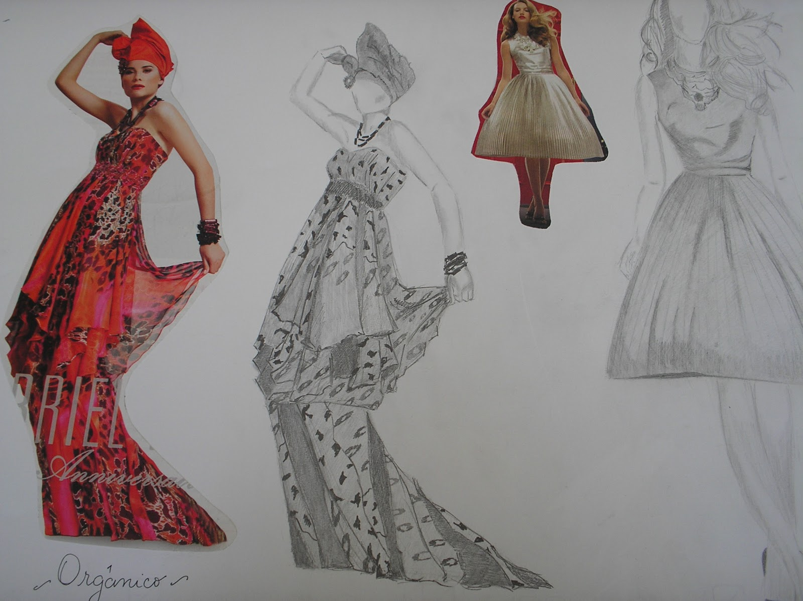Introducci n al dise o de indumentaria y los textiles for Dibujos de disenos de moda