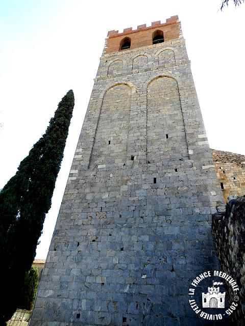 ESPIRA-DE-L'AGLY (66) - Ancienne collégiale Sainte-Marie