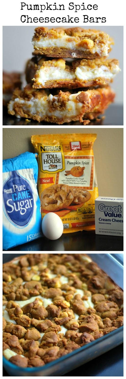 Pumpkin Spice Cheesecake Bars | Aunt Bee's Recipes