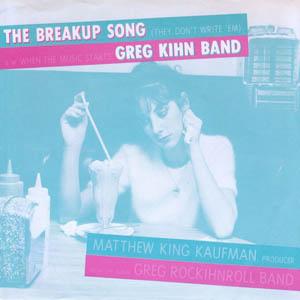 Greg Kihn Band - Break Up Song