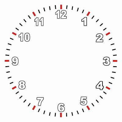 Bibi: Gabarito do Relógio de Mesa
