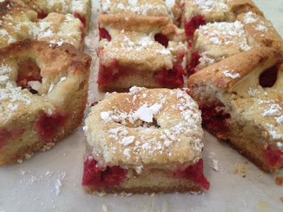 Raspberry Butter Cake Recipe