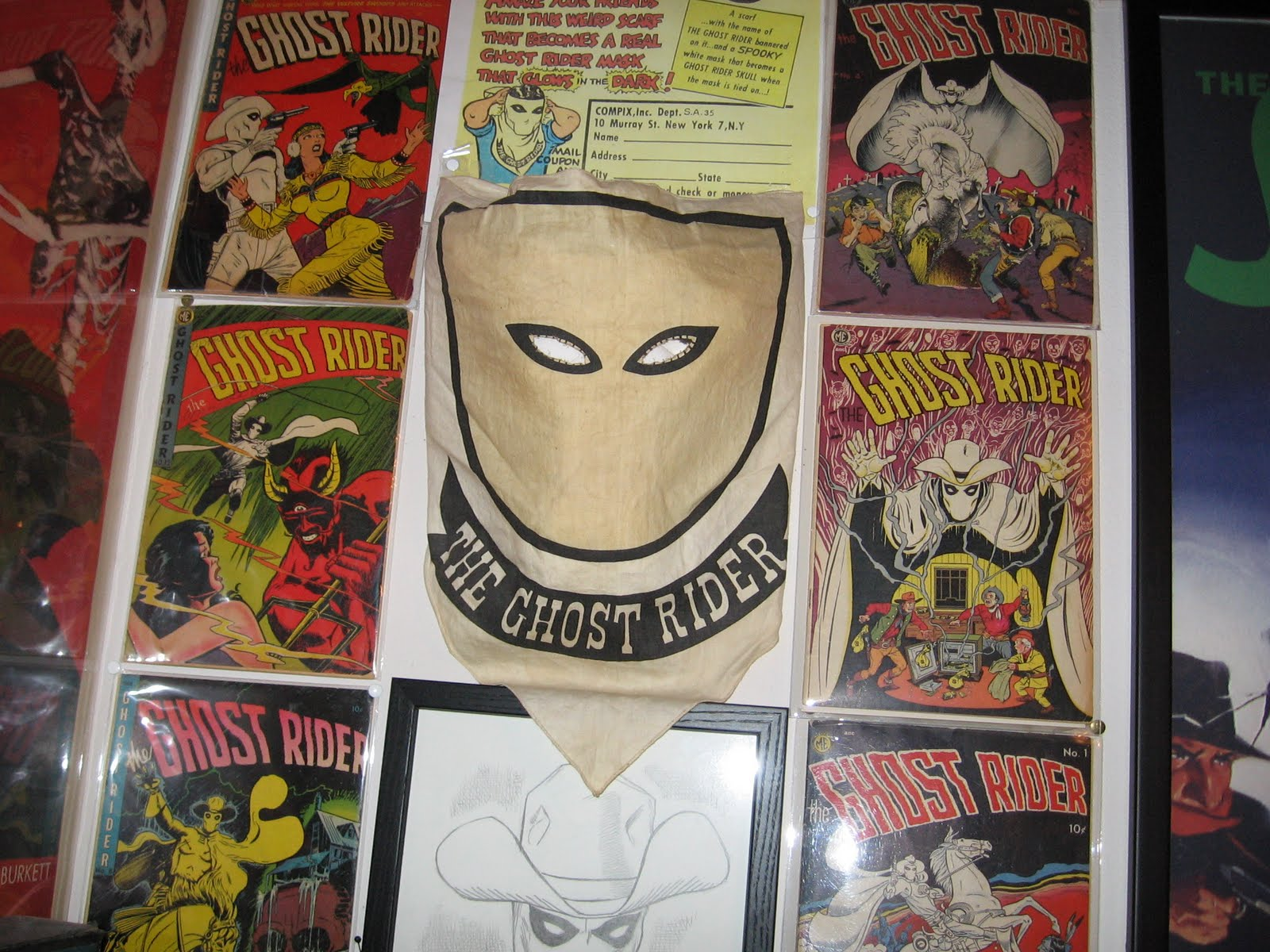 SECRET FUN BLOG: MAIL-ORDER MASK OF THE GHOST RIDER