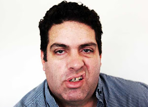 Blogger Cameron Slater sneering at the camera