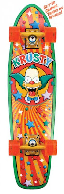 The Simpsons Skateboards santa cruz