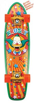 The Simpsons Skateboards santa cruz
