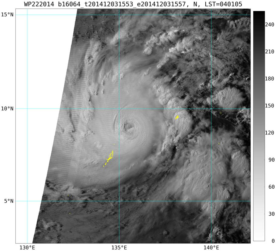 Bassin Pacifique: Hagupit, un monstre!