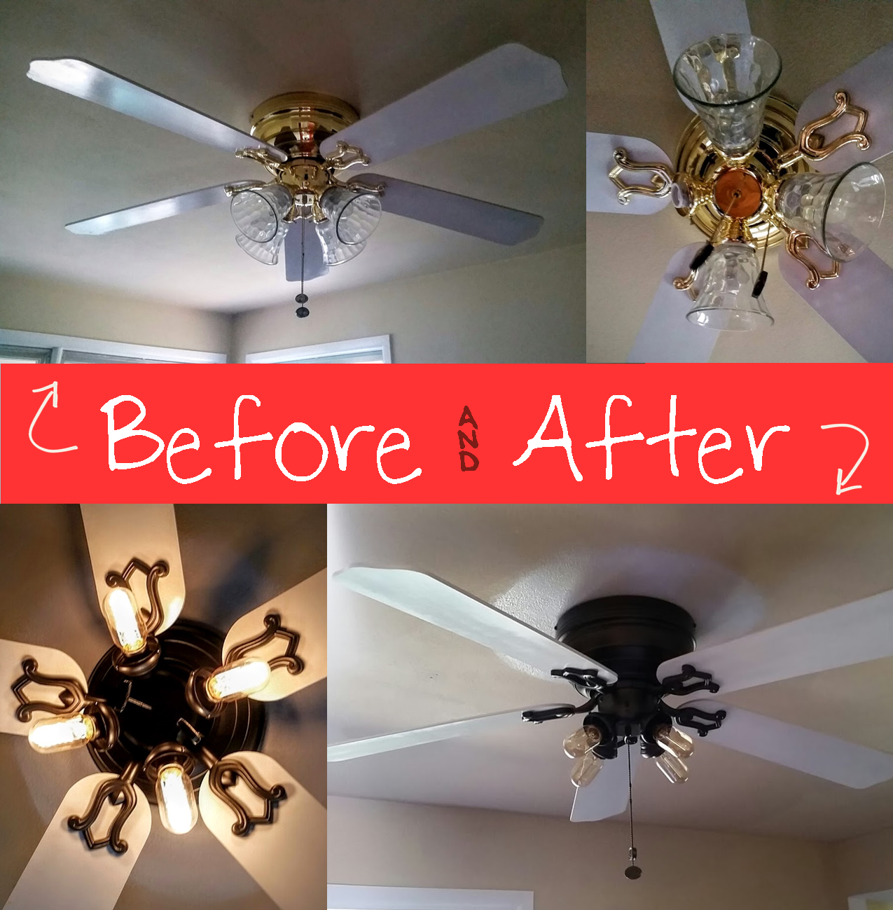 Ames reclaims dining room update goodbye brass ceiling fan we may continue playing with it and if i come up with something better i will be sure to post an update what do you think about it mozeypictures Gallery