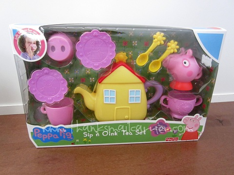 Peppa Pig Sip 'n Oink Tea Set