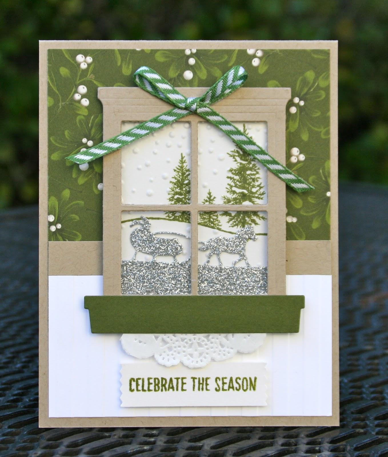 Krystal S Cards Stampin Up Happy Scenes Winter