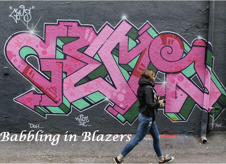 Babbling in Blazers