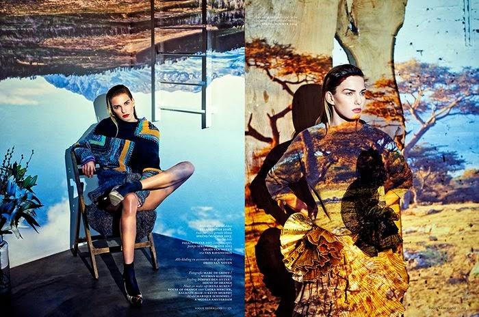 Marique Schimmel HQ Pictures Vogue Netherlands Magazine Photoshoot March 2014 By Marc de Groot
