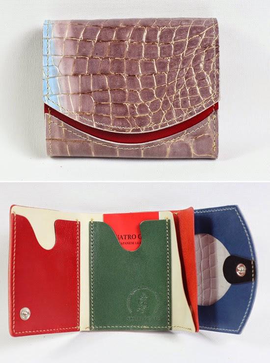 小さい財布カガムラサキ
