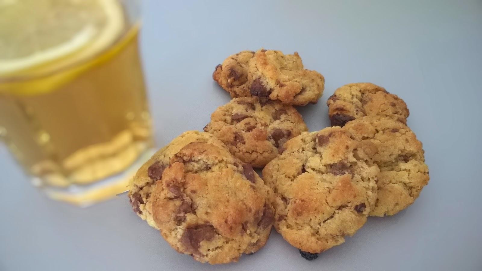 Cookies au beurre salé et aux chocolats de Pâques