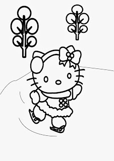 Hello Kitty for Coloring, part 6