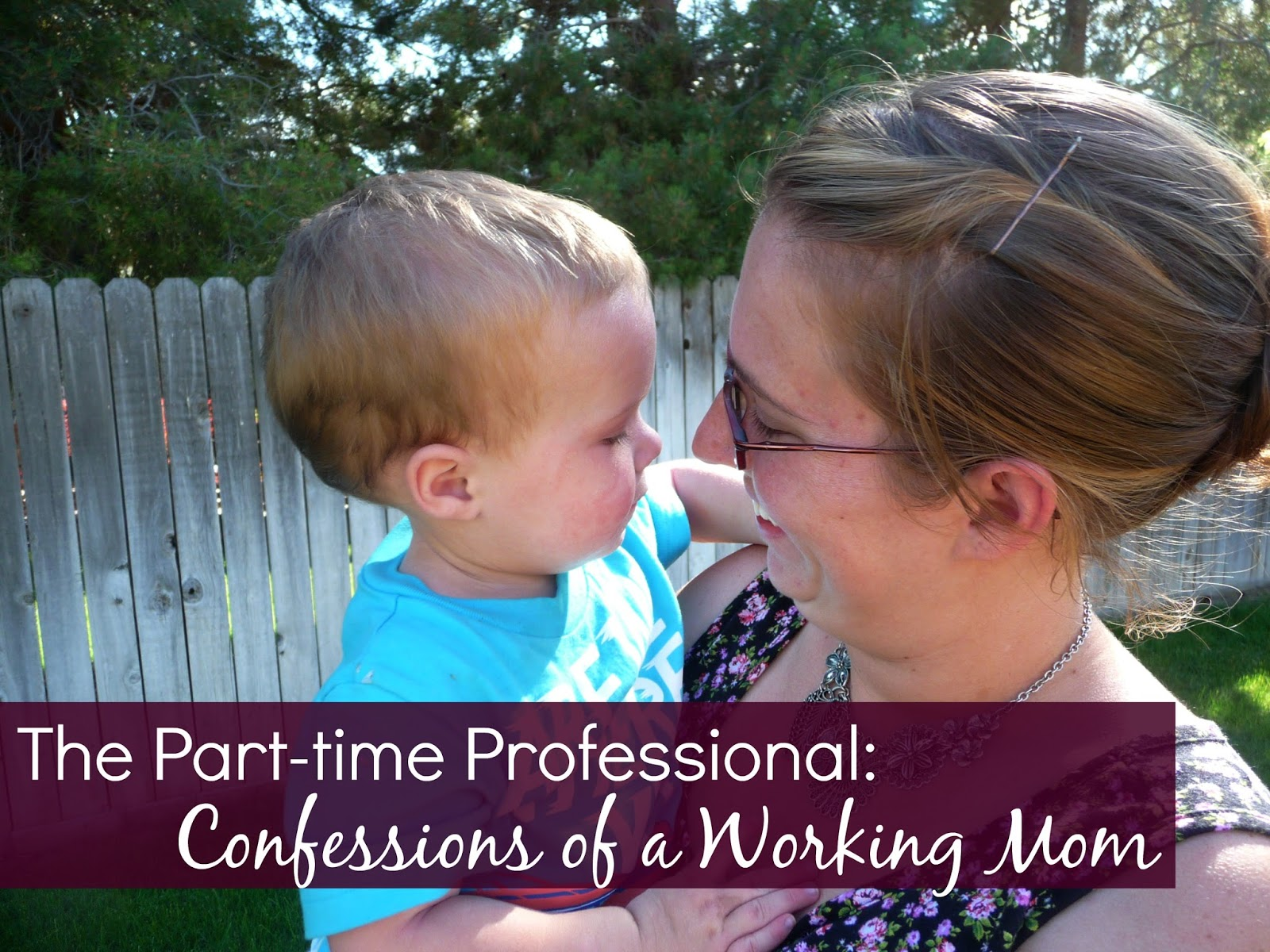 confession of a part time working mom