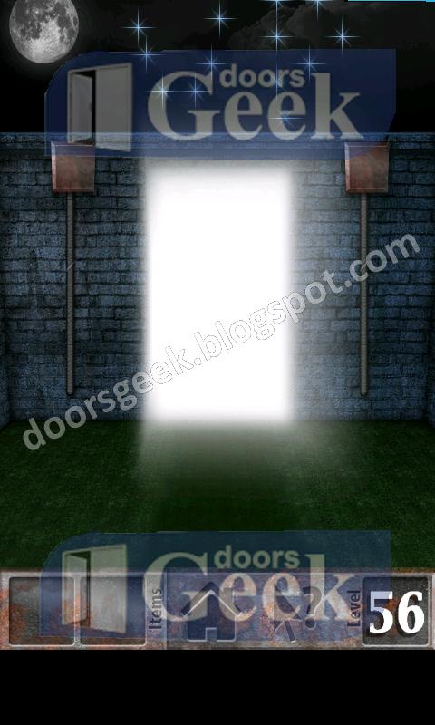 100 zombies level 56 walkthrough doors geek. Black Bedroom Furniture Sets. Home Design Ideas