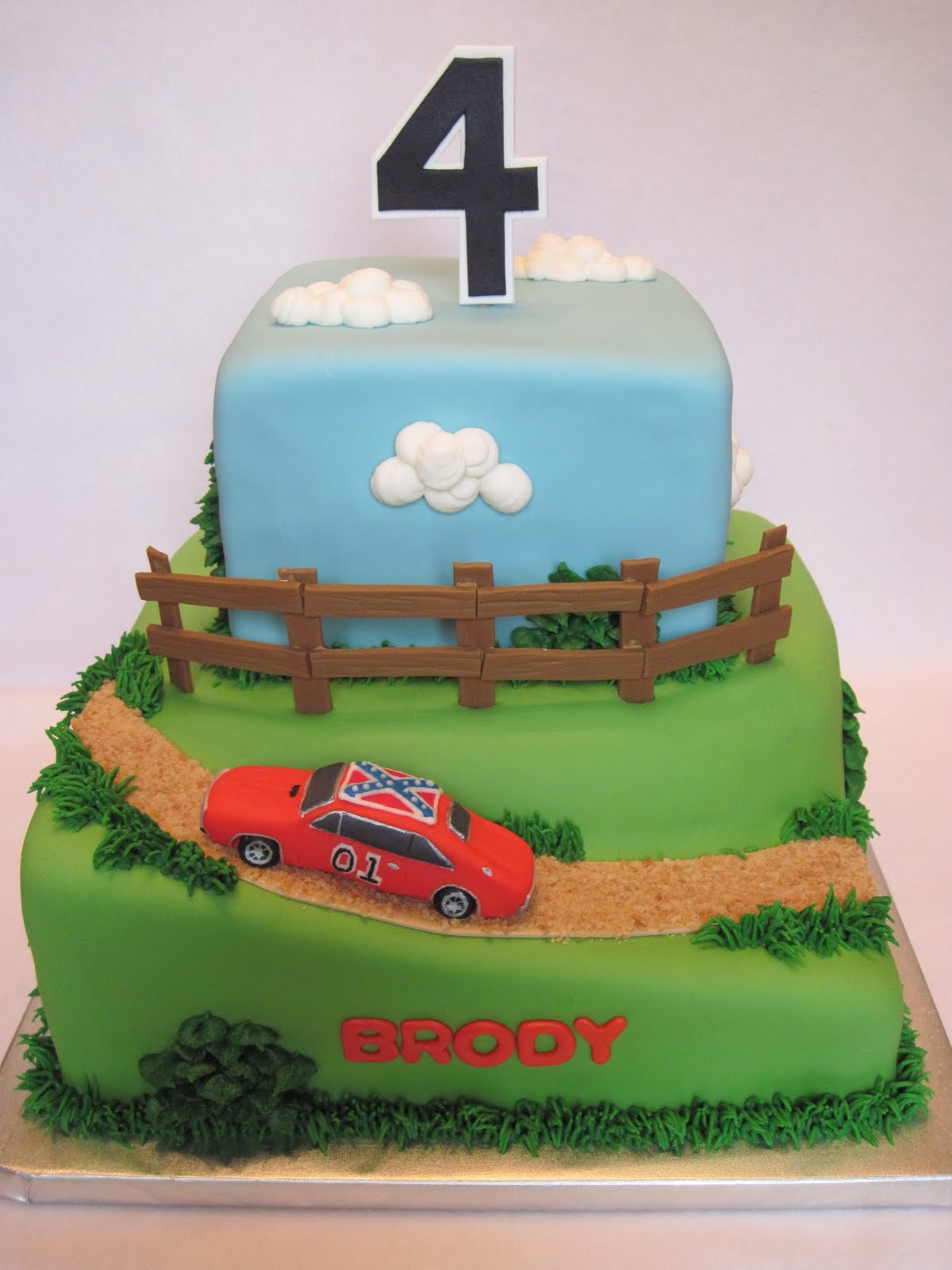 Heathers Cakes And Confections Dukes Of Hazzard