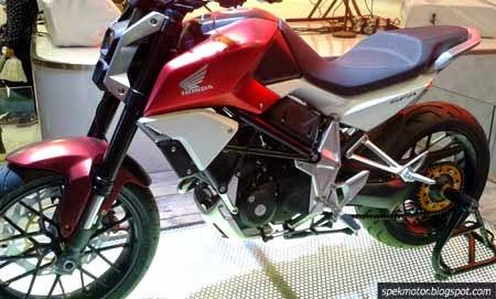 Motor konsep Honda di IMOS 2014