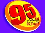 Rádio Rural 95 FM 95,9 ao vivo e online Caicó RN