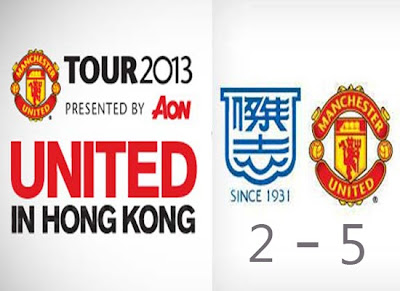Man Utd Tour 2013 v Kitchee FC