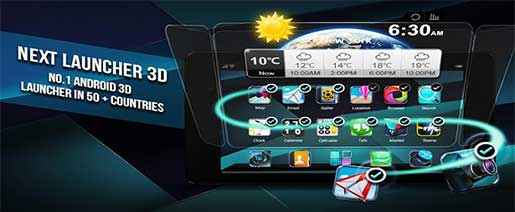 Next Launcher 3D Shell Apk v3.6