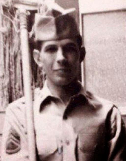 Leonard Nimoy durante il servizio militare USA