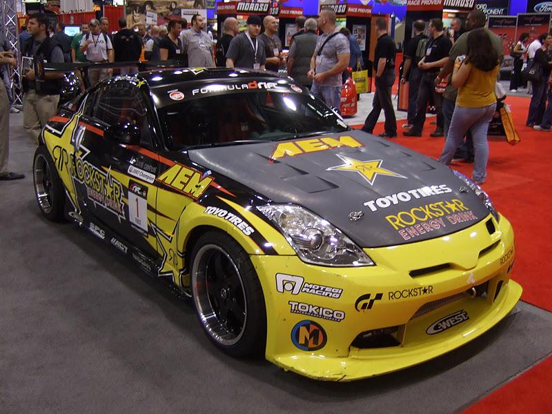 Sema Show Tanner Foust S Nissan Drift Car Formula Drift