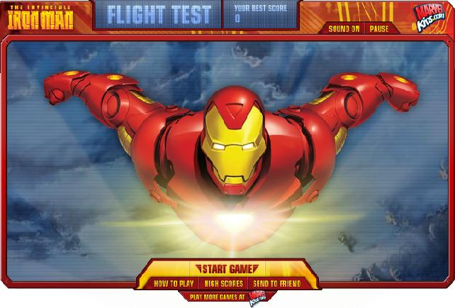 ironman flight test oyunu oyna ironman
