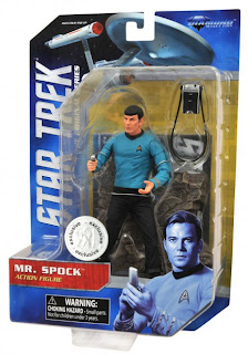 Diamond Select Star Trek The Original Series Mr Spock Toys R Us Exclusive Figure