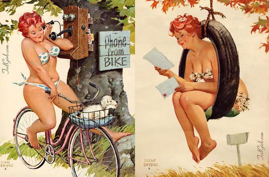 Hilda - a gordinha de Duane Bryers - 04