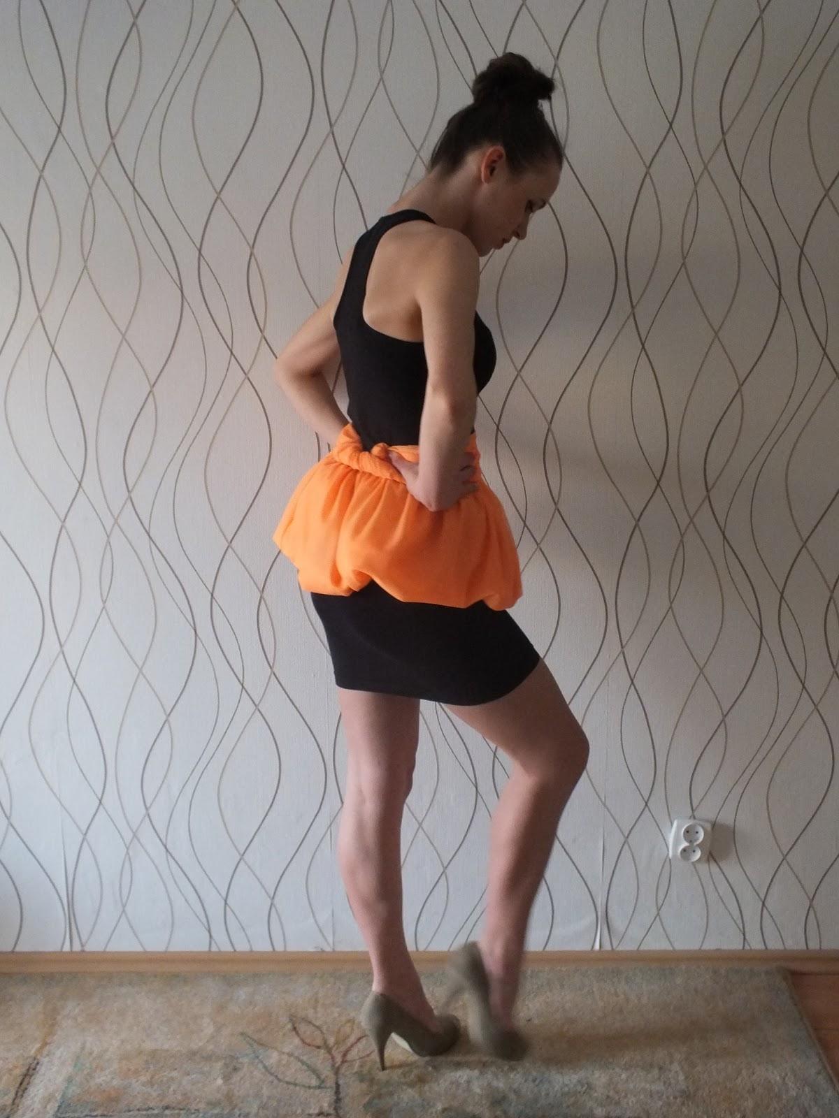 baskinka ze spódnicy maxi